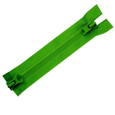 Plastic Double Pull Zipper